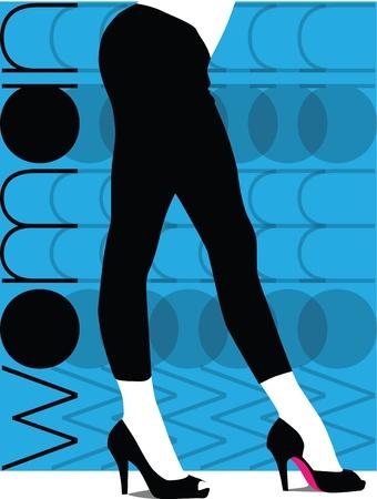 Sexy pants illustration Stock Vector - 10806686