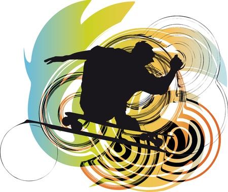 Skater illustration illustration Vector