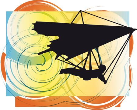 glider: Hang Glider illustration
