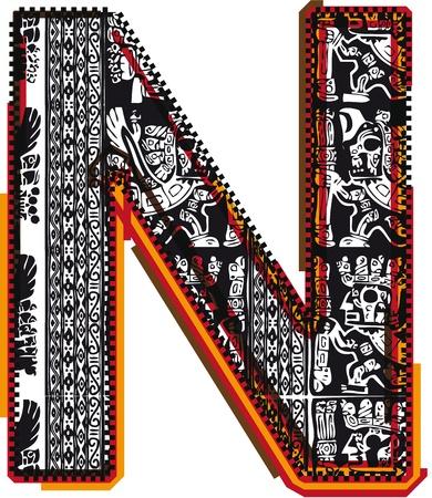 initials: Inca`s font