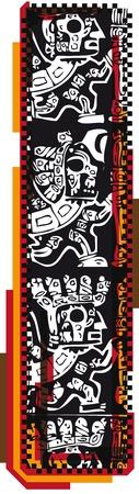 Inca`s font Stock Vector - 10858578