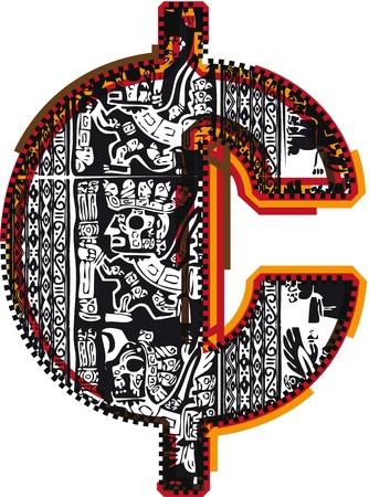 cent: Inca`s font