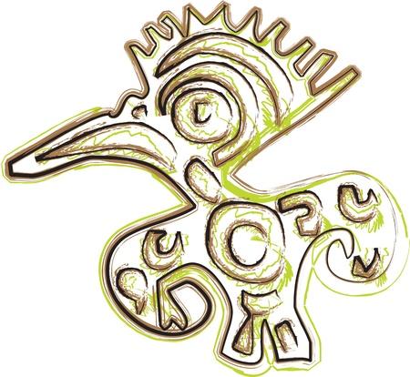 Ancient icon. Vector illustration Stock Vector - 10892752