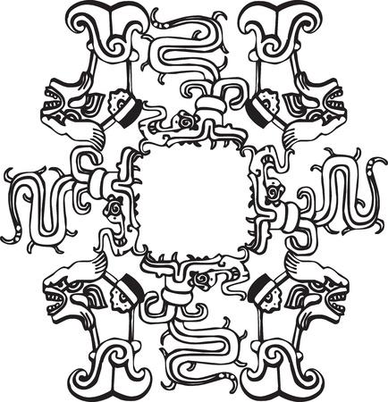 Ancient icon. Vector illustration Vector