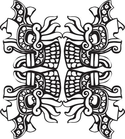 Ancient icon. Vector illustration Stock Vector - 10892447