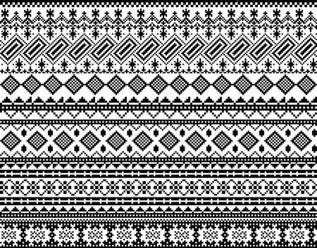 inka: Ancient pattern. Vector illustration