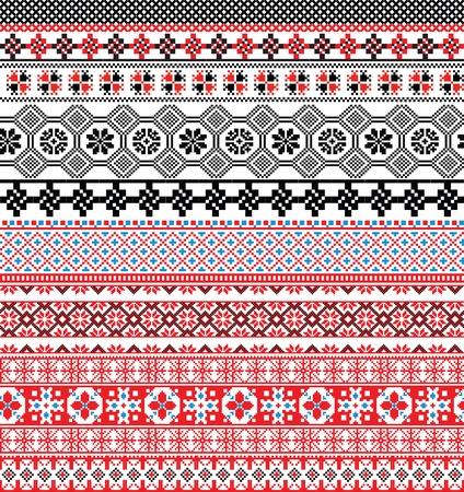 Oude patroon. Vector illustratie