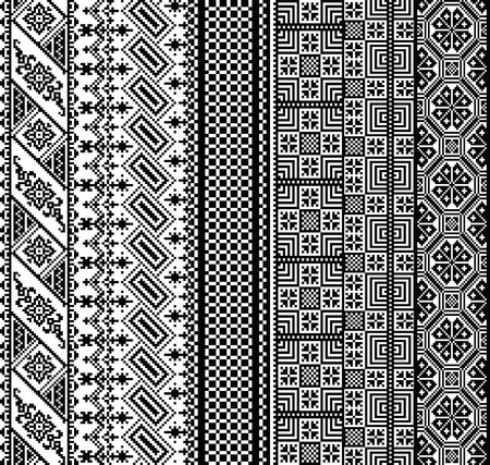 textiles: Ancient pattern. Vector illustration