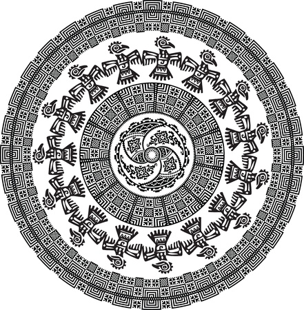 Ancient pattern. Vector illustration Stock Vector - 10892742