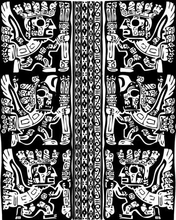 Ancient pattern. Vector illustration Stock Vector - 10892540