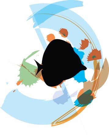 Fish illustration Stock Vector - 10892498