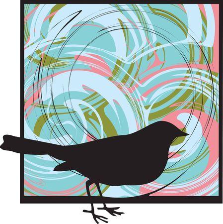 Bird illustration Vector