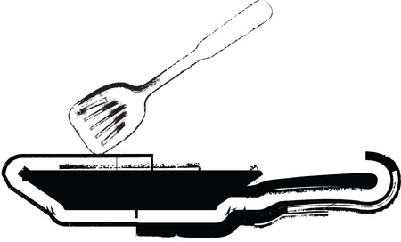 griddle: Pan illustration Illustration