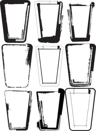 Glasses illustration Vector