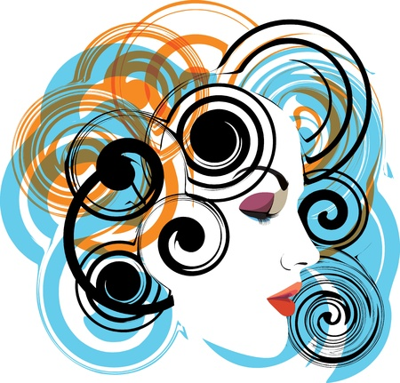 woman vector illustration Stock Vector - 10892560