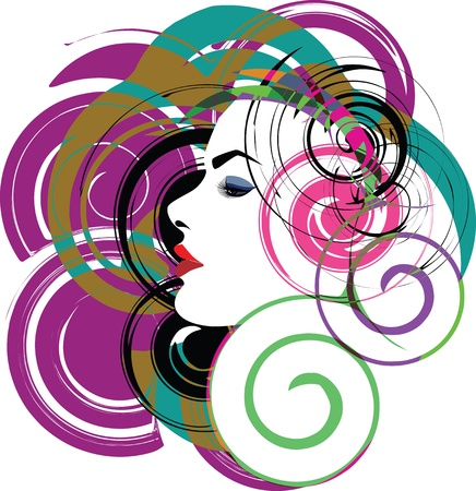 woman vector illustration Stock Vector - 10892528