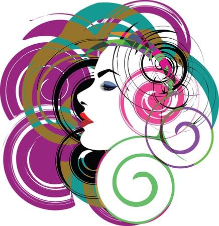 woman vector illustration Stock Vector - 10892528