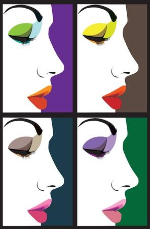 woman vector illustration Stock Vector - 10889345
