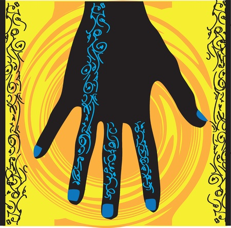 Hands design Stock Vector - 10892516