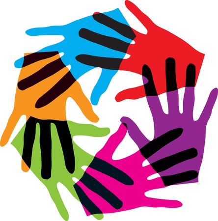 fraternidad: Uni�n toque Vectores