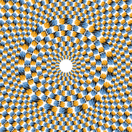 Optical effect of movement Vector