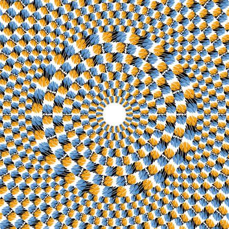 visual art: Optical effect of movement Illustration
