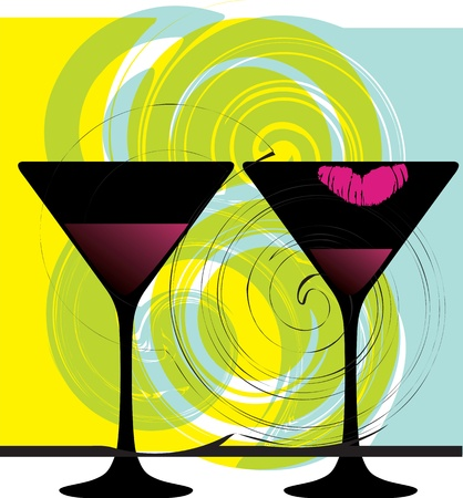 Drink & have fun. Vector illustration Stock Vector - 10915999