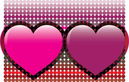 heart. Vector illustration Vector