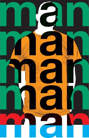 Fashion Man. Vector illustration Stock Vector - 10915985