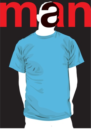 Fashion Man. Vector illustration Vector