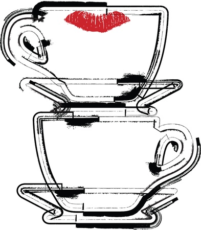 Cup illustration Vector