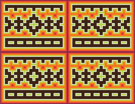 geoglyphs: Ancient pattern. Vector illustration
