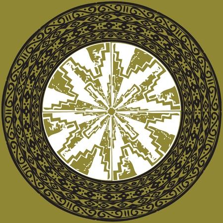 Ancient pattern. Vector illustration Stock Vector - 10915988