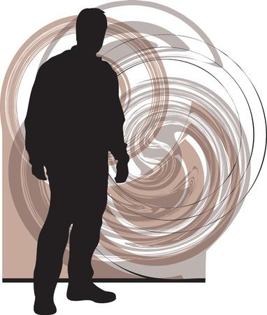 Teenagers illustration Stock Vector - 10937112