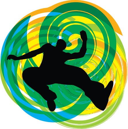 breakdance: Teenagers illustration