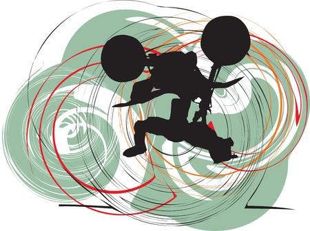 freeride: Biker ilustraci�n