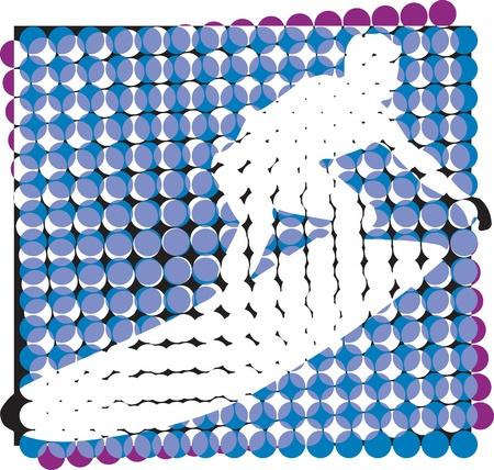 Surf illustration Vector