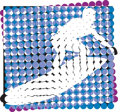 Surf illustration Stock Vector - 10937095