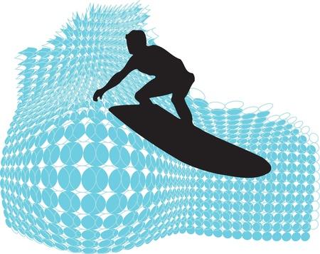Surf illustration