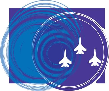 Airplane illustration Vector