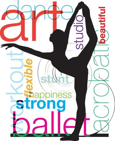 akrobatik: Akrobatische M�dchen