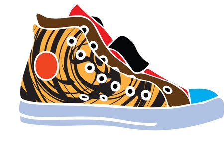 shoelaces: Sport shoes design