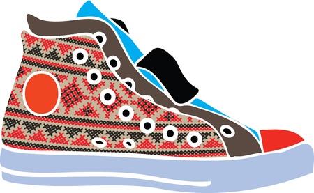 shoe strings: Sport shoes design