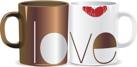 stylish couple: love cup