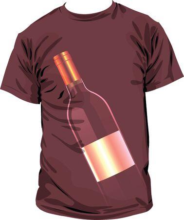 Tee illustration Vector