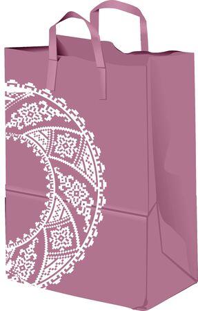 reusable: Paper bag illustration