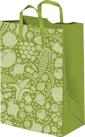 Paper bag illustration Vector