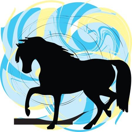 Pferd Vektor-Illustration