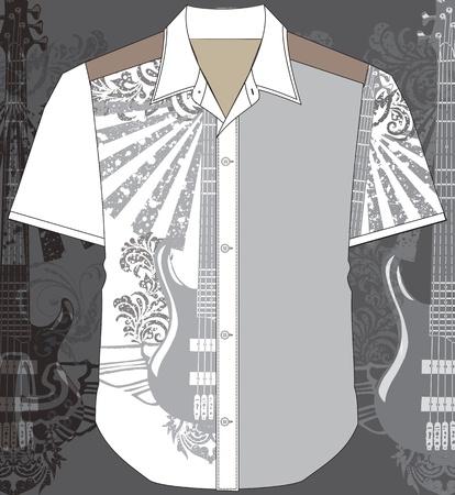 t shirt model: Men shirt