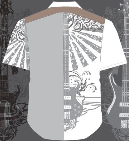 Men shirt Stock Vector - 10969398